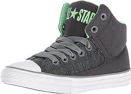 Chuck Taylor® All Star® High Street Heather Textile Fundamentals Hi (Little Kid/Big Kid)