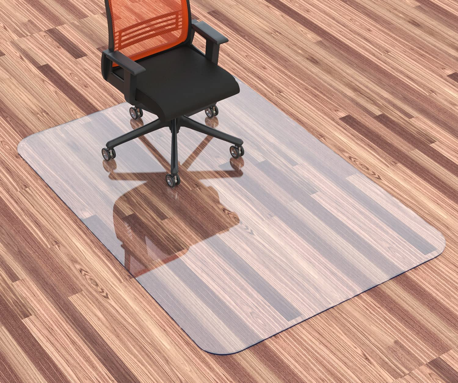 """HOMEK Office Chair Mat for Floor Hardwood 48"""" Cr Sale Special Price Gifts 40""""x"""