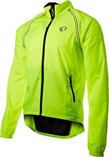 PEARL IZUMI Men's Ride Elite Barrier Convertible Jacket, Screaming Yellow, Small