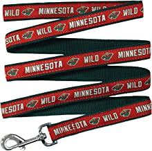 Pets First NHL MINNESOTA WILD LEASH for DOGS & CATS, Medium. - Walk Cute & Stylish! The Ultimate HOCKEY FAN Leash!