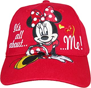 Disney Girls' It's All About Me Minnie Mouse Baseball Cap
