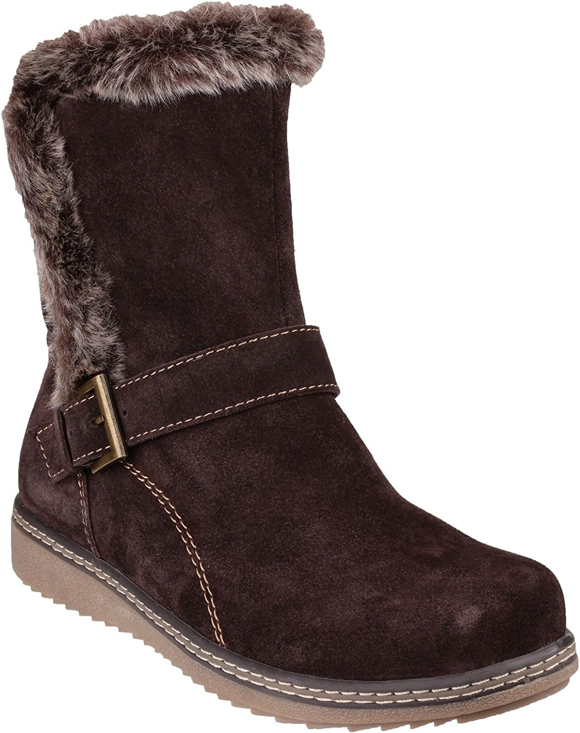 Fleet & Foster Womens Budapest Winter Boot Brown Size UK 7 EU 40