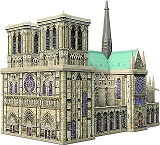 Ravensburger-Puzzle 3D 324 pièces Notre-Dame de Paris, Color néant, 34,2x16,4x25,8cm (12523)