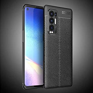 New Cell Phone Shell For OPPO Reno5 Pro Plus Litchi Texture TPU Shockproof Case Phone Cases