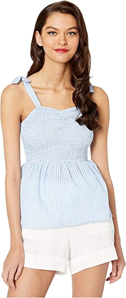 Blue/White Gingham
