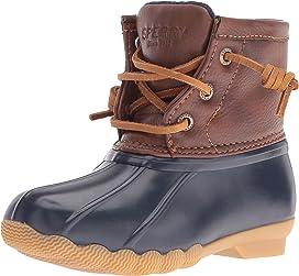 ab26d0dc4d Sperry Kids Saltwater Boot (Little Kid Big Kid) at Zappos.com