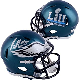 Brandon Graham Philadelphia Eagles Autographed Riddell Speed Super Bowl LII Champions Mini Helmet - Fanatics Authentic Certified