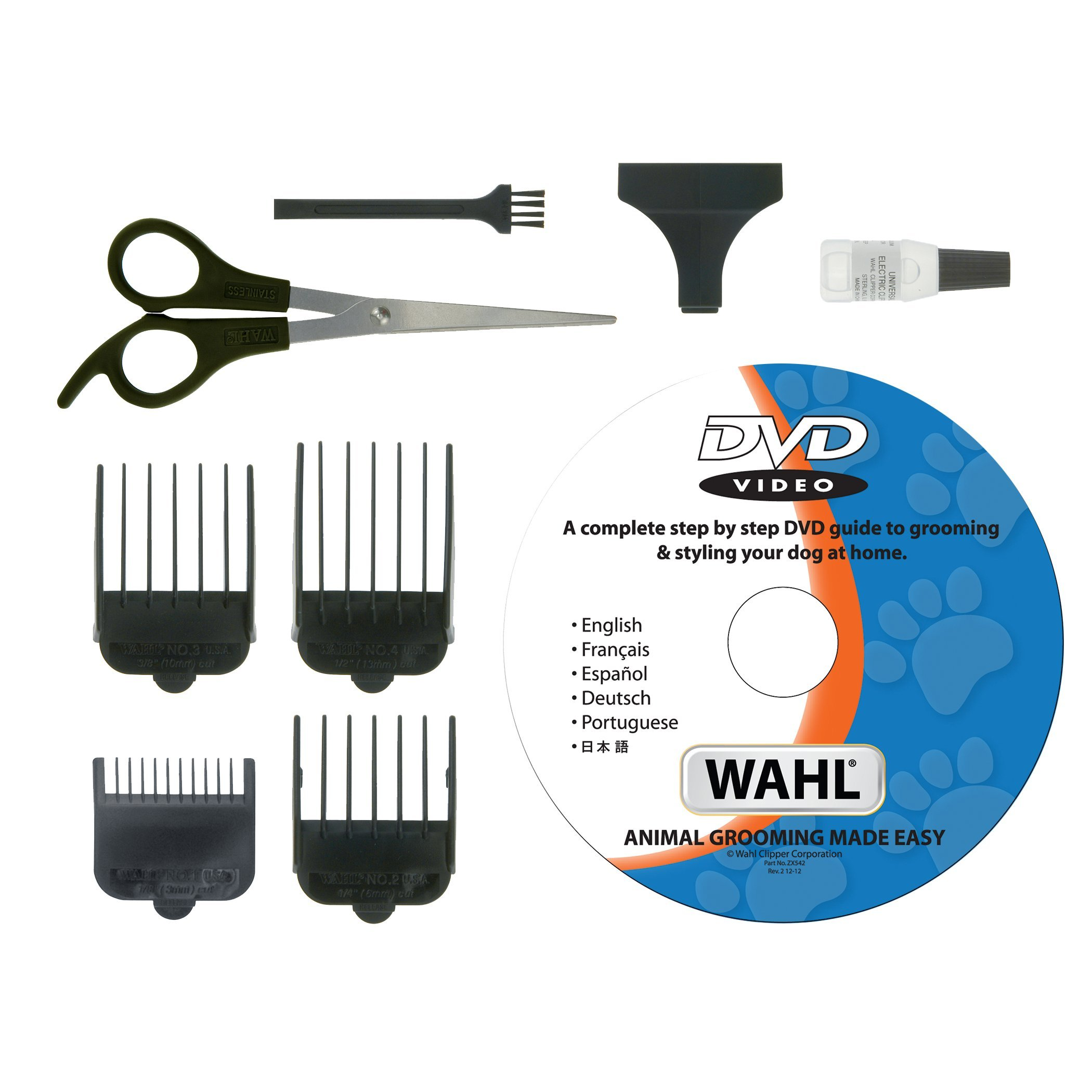 WAHL 9269-810 - Juego de cortadores para Perros (Incluye DVD de ...