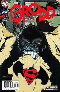 Superman/Batman #63 (Grodd Night & Day, cover by Rafael Albuquerque)