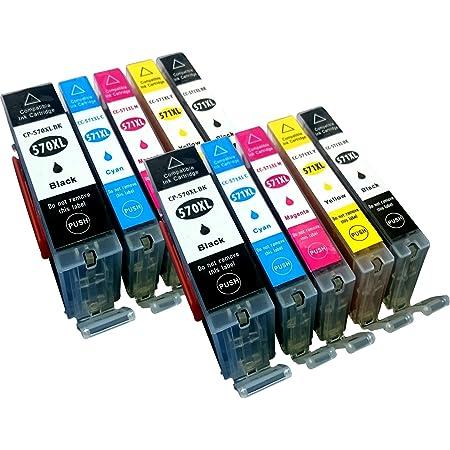 10 Kompatible Youprint Druckerpatronen Für Canon Pixma Mg5750 Mg5751 Mg6850 Mg7750 Mg5750 Mg5751 Mg5752 Mg5753 Mg6850