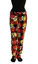 Dr. Seuss Women's The Grinch Super Soft Plush Fleece Sleep Pants