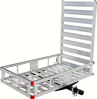 MaxxHaul 80779 Aluminum Hitch Mount Cargo Carrier with 47