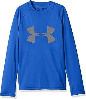 Under Armour Boys' Big Logo Long Sleeve Shirt