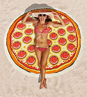 Best pizza beach towel Reviews