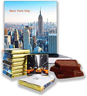 DA CHOCOLATE Candy Souvenir NEW YORK CITY Chocolate Gift Set 5x5in 1 box (Empire State Building Prime)