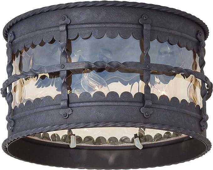 Minka Lavery Outdoor Ceiling Lighting 8889 A39 Mallorca Flush Mount 180 Watts Iron Home Improvement Amazon Com
