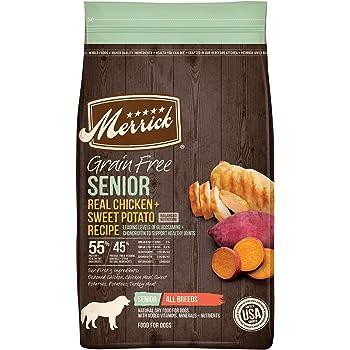 Merrick Senior Grain Free with Real Meat + Sweet Potato Dry Dog Food