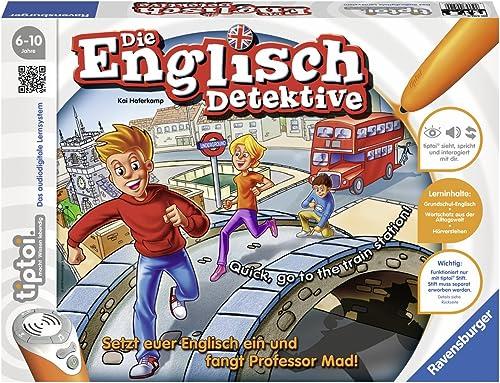 RV TIPTOI Lernspiel 'Englisch Detektive' 1 - 4 Spieler, ab 6 Jahren (005109)