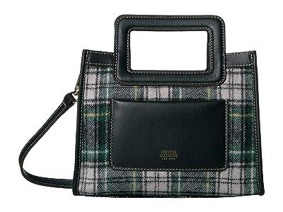 Frances Valentine Lindsay Small Shopper Bag (Plaid) Handbags