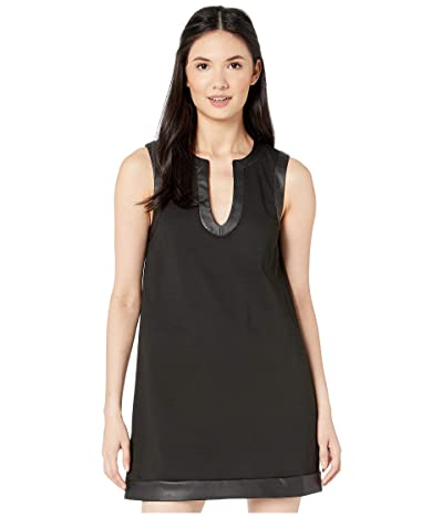 BCBGeneration City Sleeveless Knit Dress (Black) Women