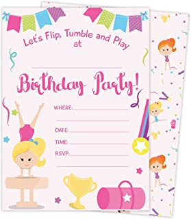 Best happy birthday gymnastics cards Reviews