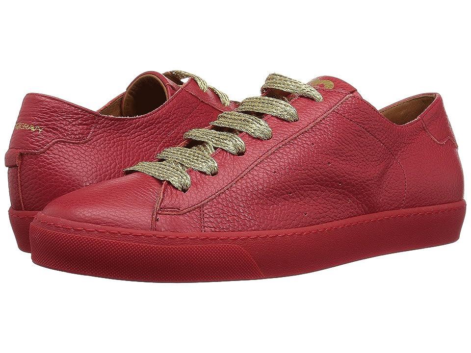 Gold & Gravy Bill Sneaker (Red) Men