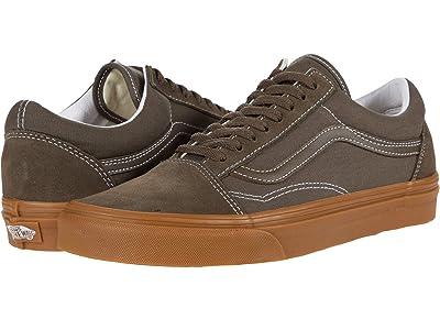 Vans Old Skool ((Gum) Canteen) Skate Shoes