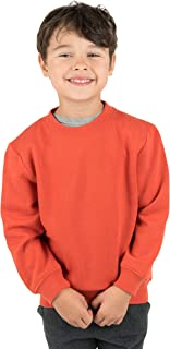Leveret Kids & Toddler Boys Girls Long Sleeve Sweatshirt Variety of Colors (Size 2-14 Years)