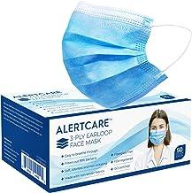 ALERTCARE 3 PLY Disposable Face Shield, 50 Counts