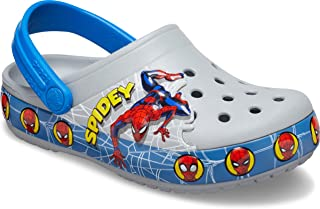 Crocs Kid's Fun Lab Spiderman Light Up Clog | Light Up Shoes for Kids