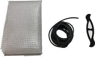 Far Edge Aquatics Clear Mesh Netting Screen Kit