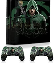WB Arrow City Skyline – Official PS4 Console and Controller Skins Combo Set – Decals Officially Licensed by Playstation- Controller Gear