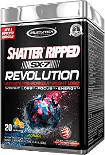 MuscleTech Shatter Ripped SX-7 Revolution - Blueberry Lemonade