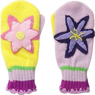 قفازات كيدورابل المصنوعة من الأكريليك الناعم والوردي والأصفر للبنات