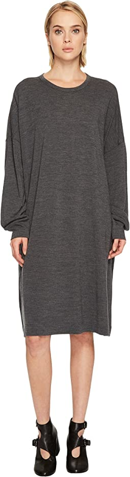 Y's by Yohji Yamamoto - Rn Big T-Shirt OP Long Sleeve Dress