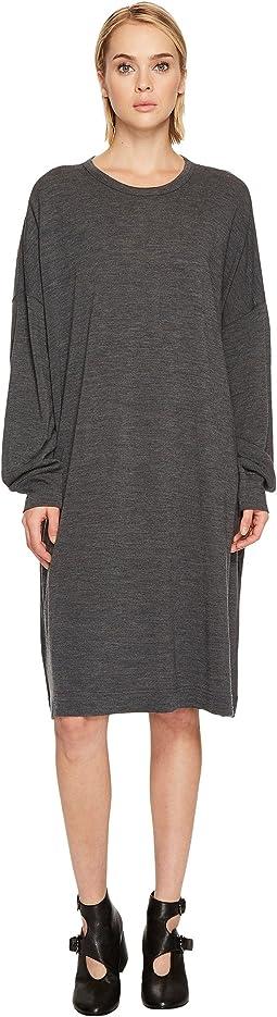 Y's by Yohji Yamamoto Rn Big T-Shirt OP Long Sleeve Dress