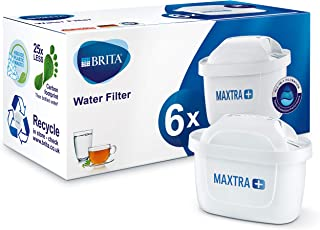 BRITA MAXTRA + Replacement Water Filter Cartridges , Compatible with all BRITA Jugs - Reduce Chlorine , Limescale and Impu...