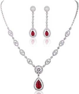 Best red jewellery set Reviews