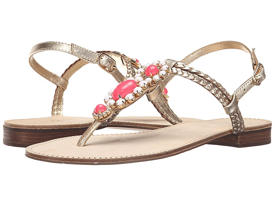 Lilly Pulitzer Sole Seaurchin Sandal (Gold Metal) Women
