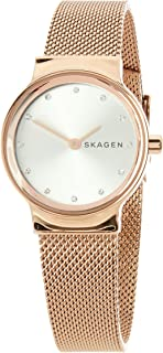 Skagen Women's Quartz Watch analog Display and Stainless Steel Strap, SKW2665