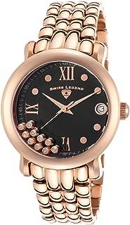 Swiss Legend Women's 22388-RG-11 Diamanti Analog Display Swiss Quartz Rose Gold Watch