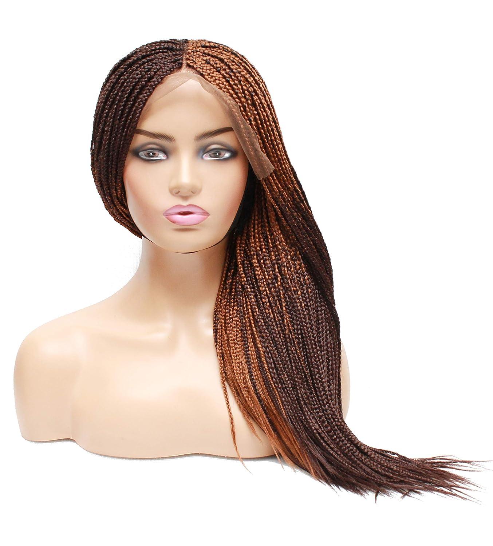 Braids wigs- Braided wig- 4 years warranty Lace frontal w braided Box braids Popular product