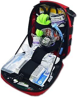 Lightning X Gunshot Trauma/Hemorrhage Control Kit in MOLLE IFAK Pouch - RED