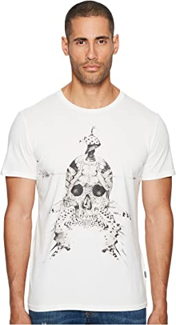 Just Cavalli - Feathered Skull T-Shirt