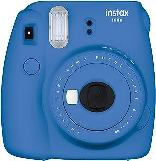 Fujifilm Instax Mini 9 Instant Camera Cobalt Blue (Renewed)