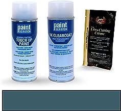 PAINTSCRATCH Blue Silk Metallic LD5L/2B for 2015 Volkswagen Jetta - Touch Up Paint Spray Can Kit - Original Factory OEM Automotive Paint - Color Match Guaranteed