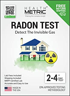 radon test kit hot