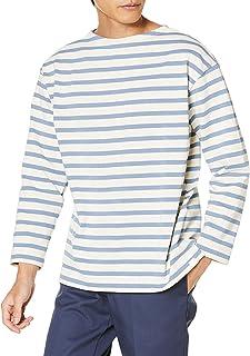 [ヘリーハンセン] Tシャツ ロングスリーブ ボーダーボートネック