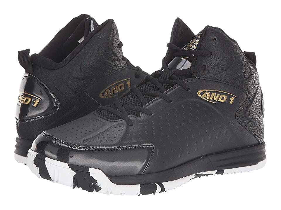 AND1 Tipoff (Black/Gold/Marble) Men