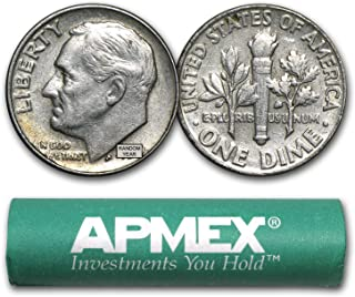 roll of roosevelt dimes